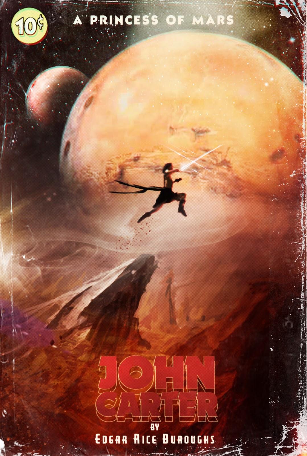 John Carter Book Cover Art : Thejohncarterfiles another cool piece of john carter