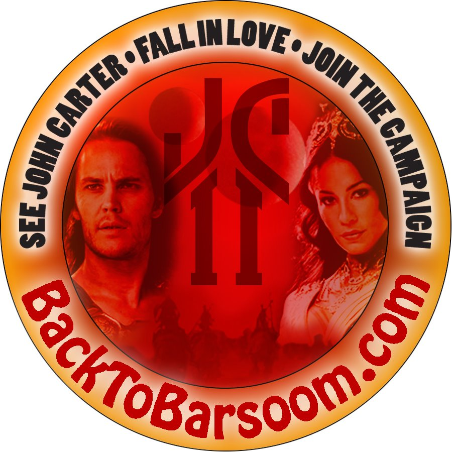 "John Carter Sequel Group Announces ""Back to Barsoom"" Screening of John Carter in Los Angeles December 1"