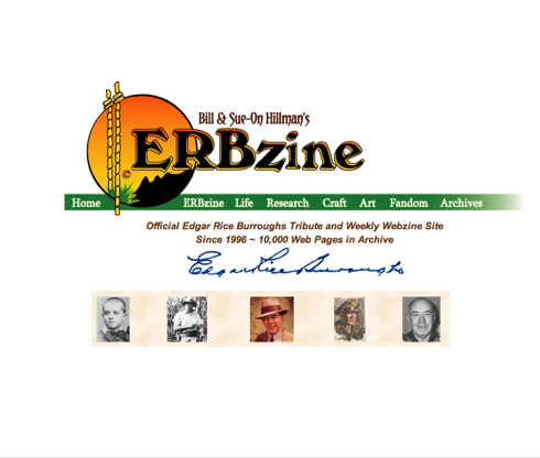 26 October Erbzine is Out . . . Lots of Good Stuff