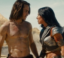 "A Review of the Commentary Track of John Carter DVD/Blu-ray calls film-makers ""drunk with power"""