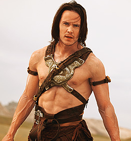 So, at what point, if any, does Stanton's John Carter become ERB's John Carter?
