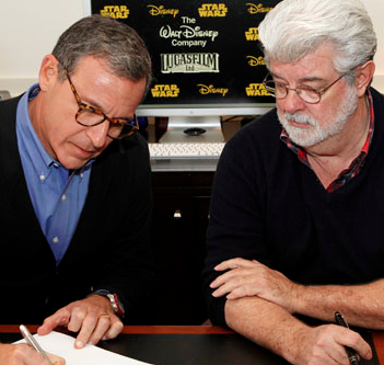 Iger:  Talks to acquire Lucasfilm started in May 2011