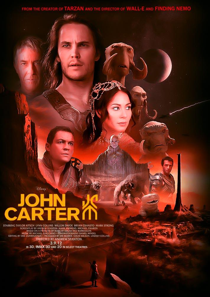 John Carter Movie A Mother Lode of Barso...