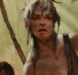 A Peek Behind The Scenes at the Cover Art Development for Jane The Woman Who Loved Tarzan