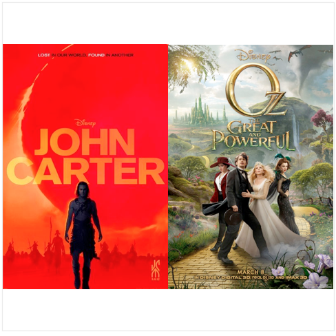 John Carter A Year Later: Does Oz the Great and Powerful shed light on what might have been?