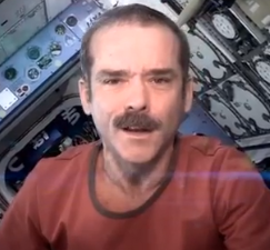 Astronaut 'Picker Chris Hadfield is my newest hero . . . .and his music video may be one of the best ever