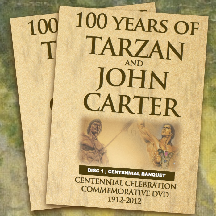"The Edgar Rice Burroughs Centennial DVD ""100 Years of Tarzan and John Carter"" is Here"
