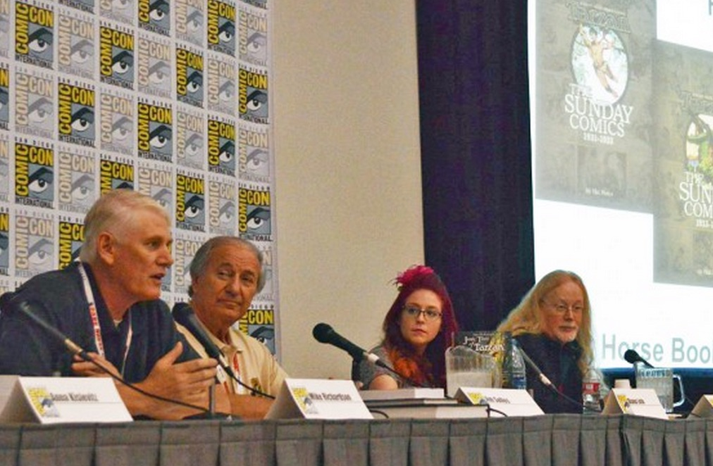 ERB Panel at Comic-Con; Notably Absent — Tarzan 2016, But The Panel Went Well Anyway