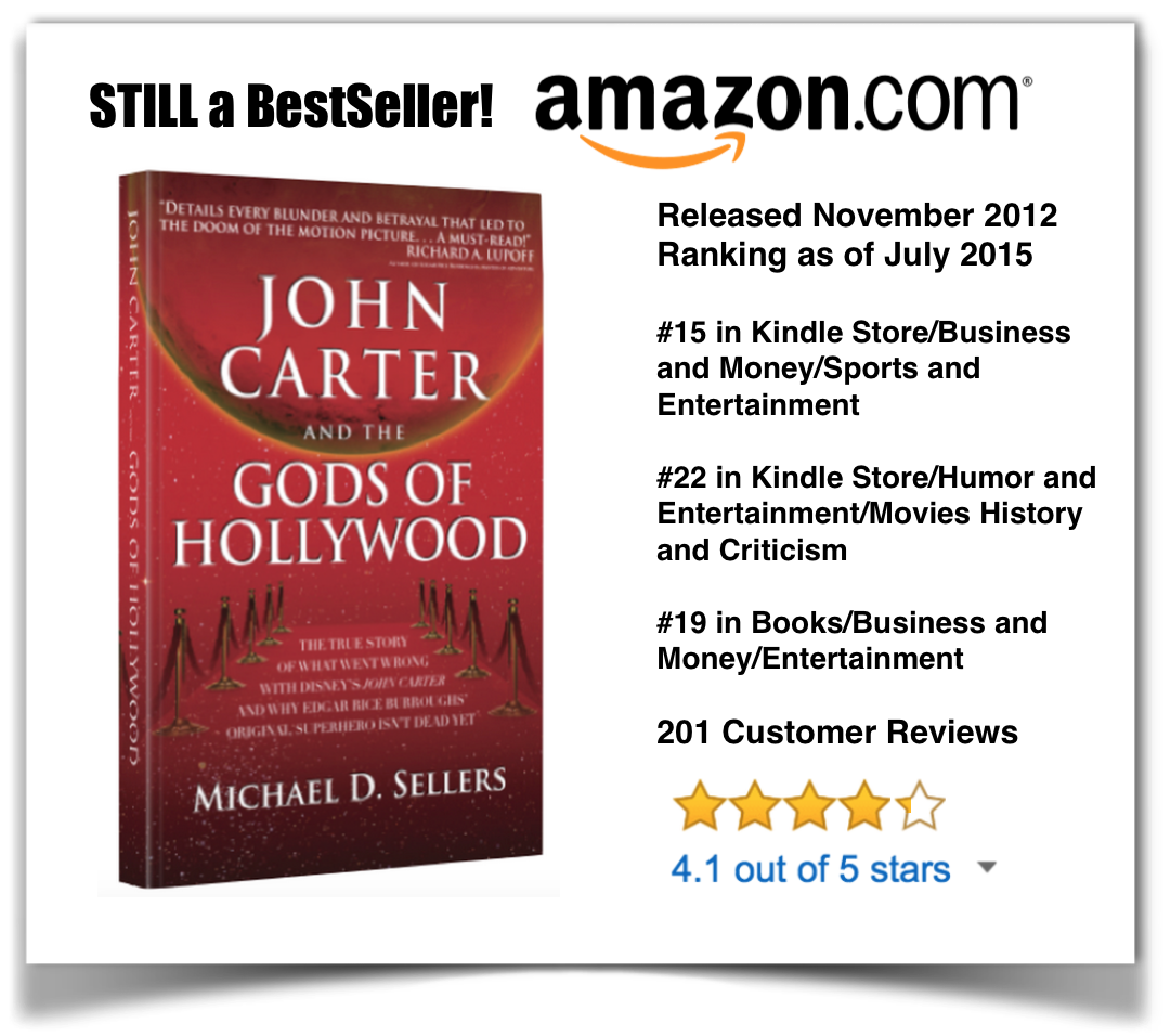 John Carter and the Gods of Hollywood Banner