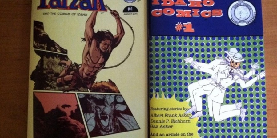 TARZAN AND THE COMICS OF IDAHO
