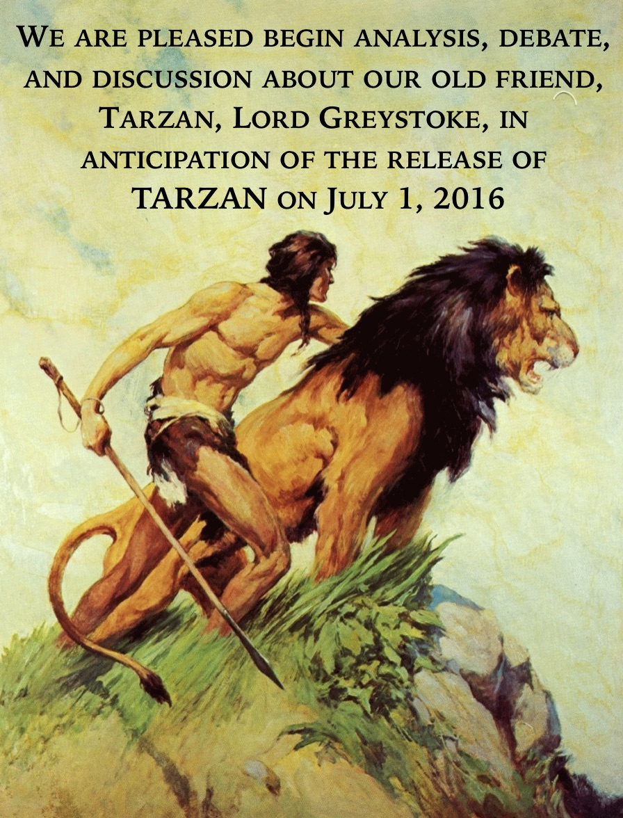 Tarzan on the John Carter Files