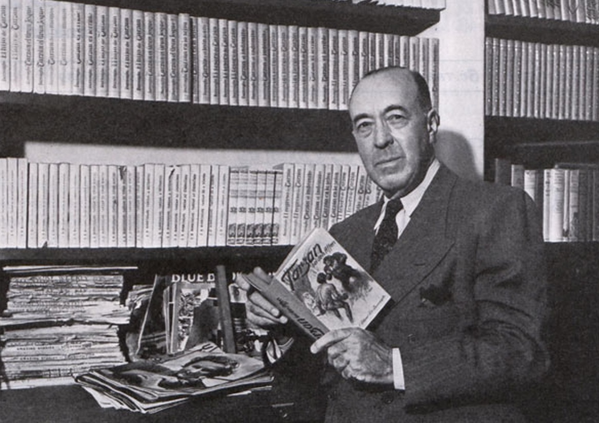 ERB In His Office