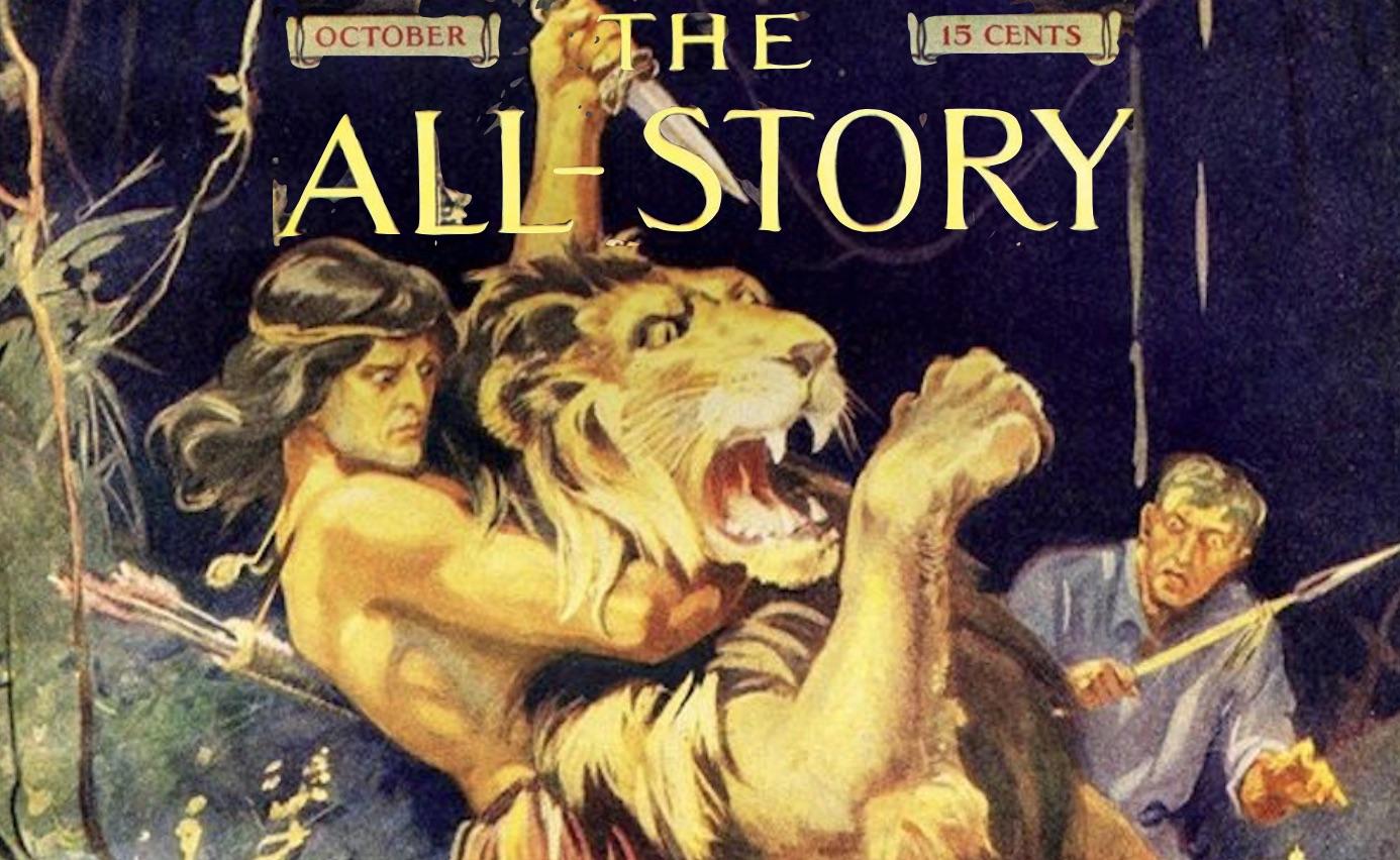 All Story Tarzan Cover Photo Shopped