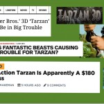 Fans Hoping For a Successful Tarzan 2016 Need to Go to These Negative Articles and Comment