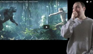 Tarzan Trailer Reactions 3